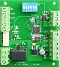 low cost wiegand extender module